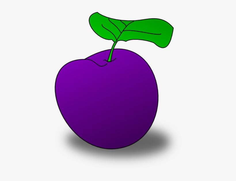 Plum Fruit Clipart.