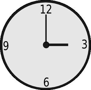 Clock Clip Art at Clker.com.