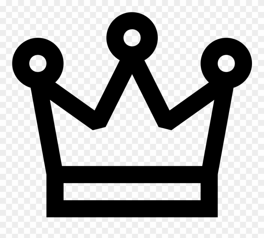 Crown Icon Free Png And Svg Download 3 Point Crown Clipart.