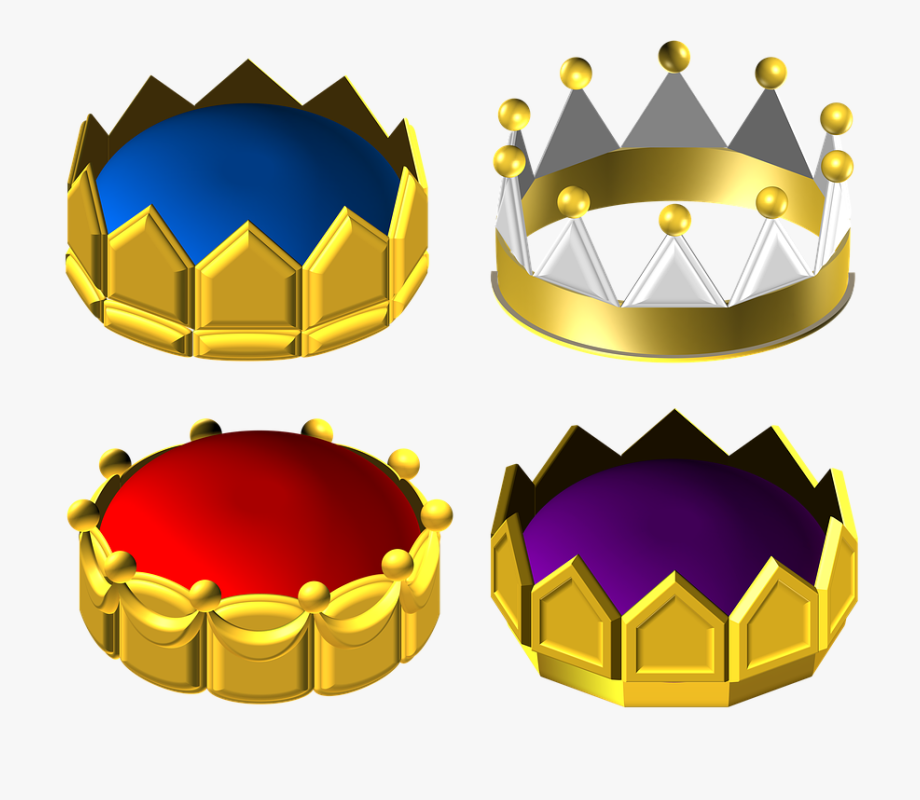 Golden Clipart Round Crown, Cliparts & Cartoons.