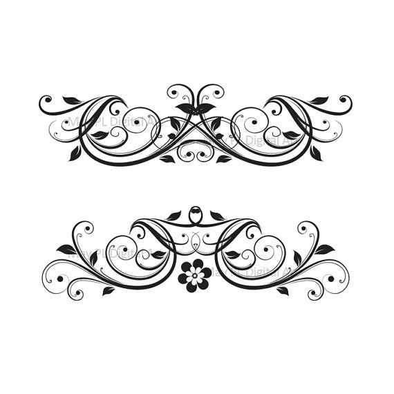 3 point flourish clipart clipart images gallery for free.