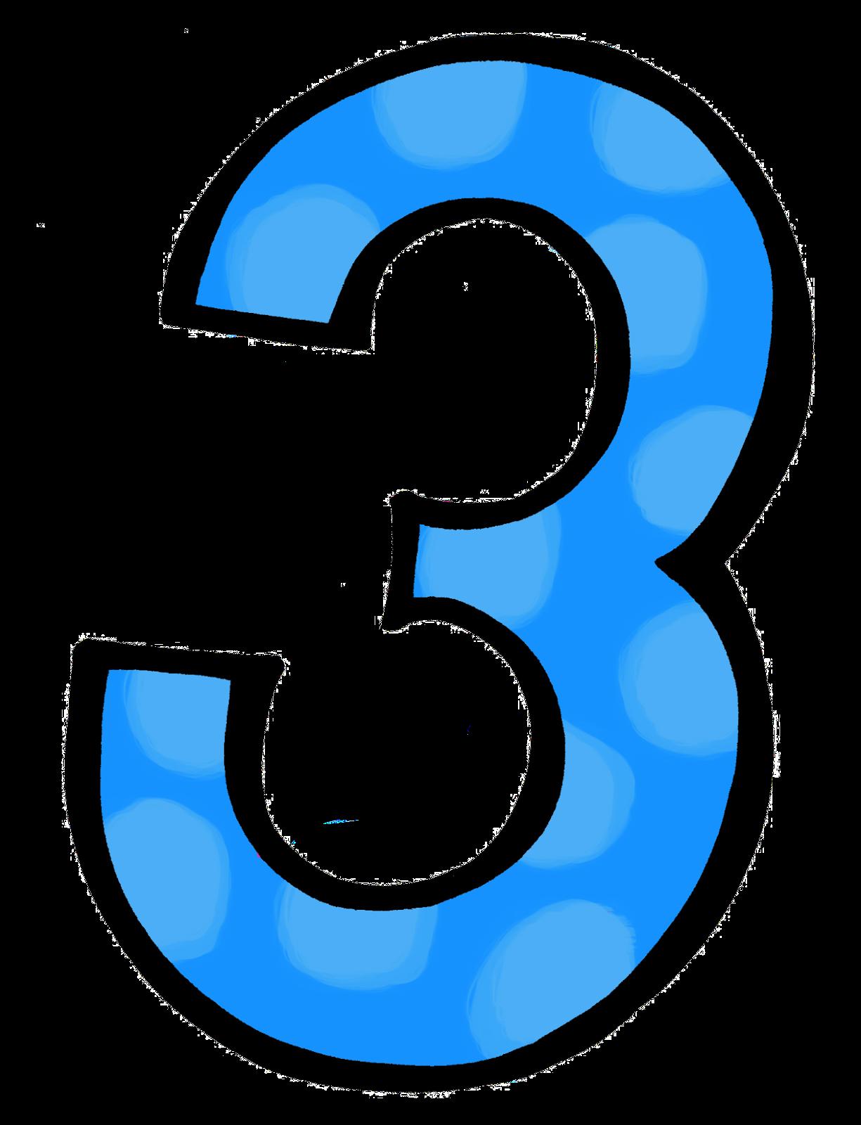 Number 3 clipart polka dot, Number 3 polka dot Transparent.