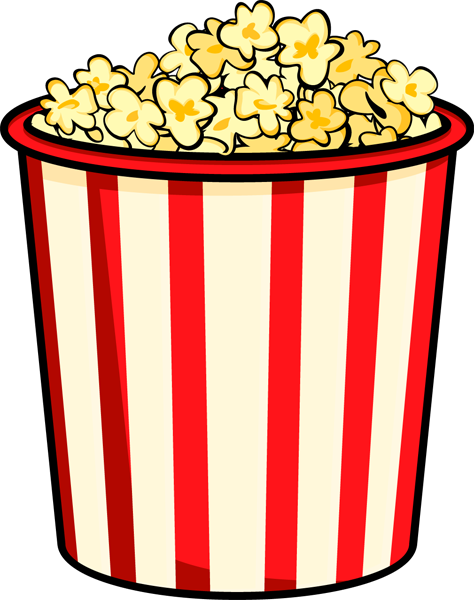 Free popcorn clipart 3 » Clipart Station.