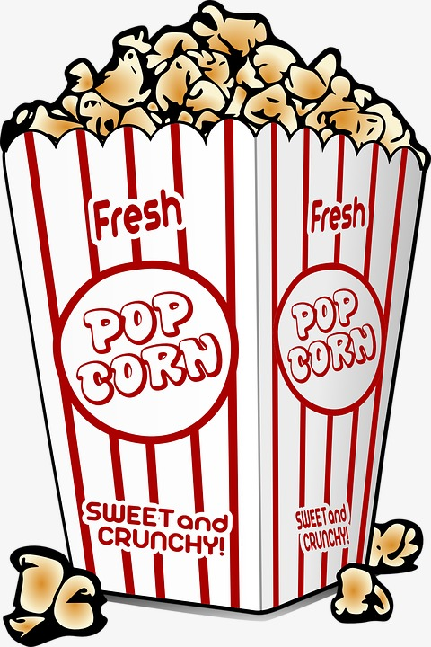 Popcorn clipart png 3 » Clipart Station.