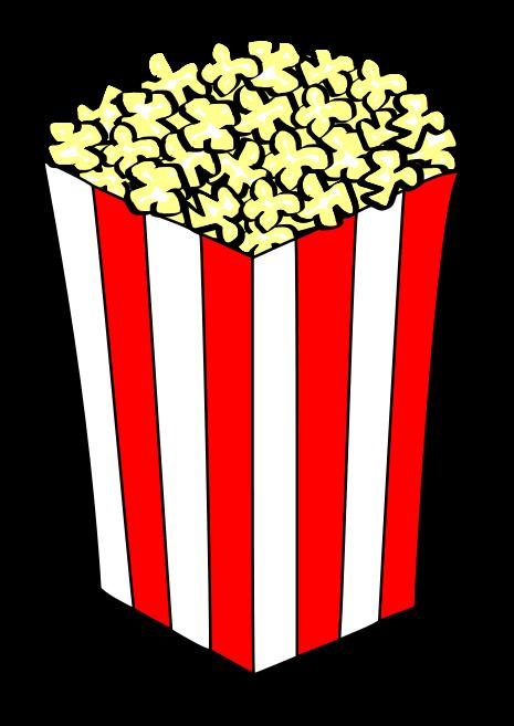 Free popcorn clipart 3.
