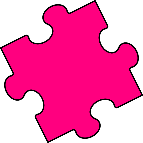 Interlocking puzzle clipart kid 3.