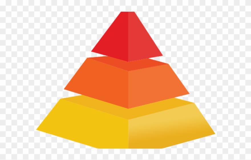 Three Tier Pyramid Clipart.