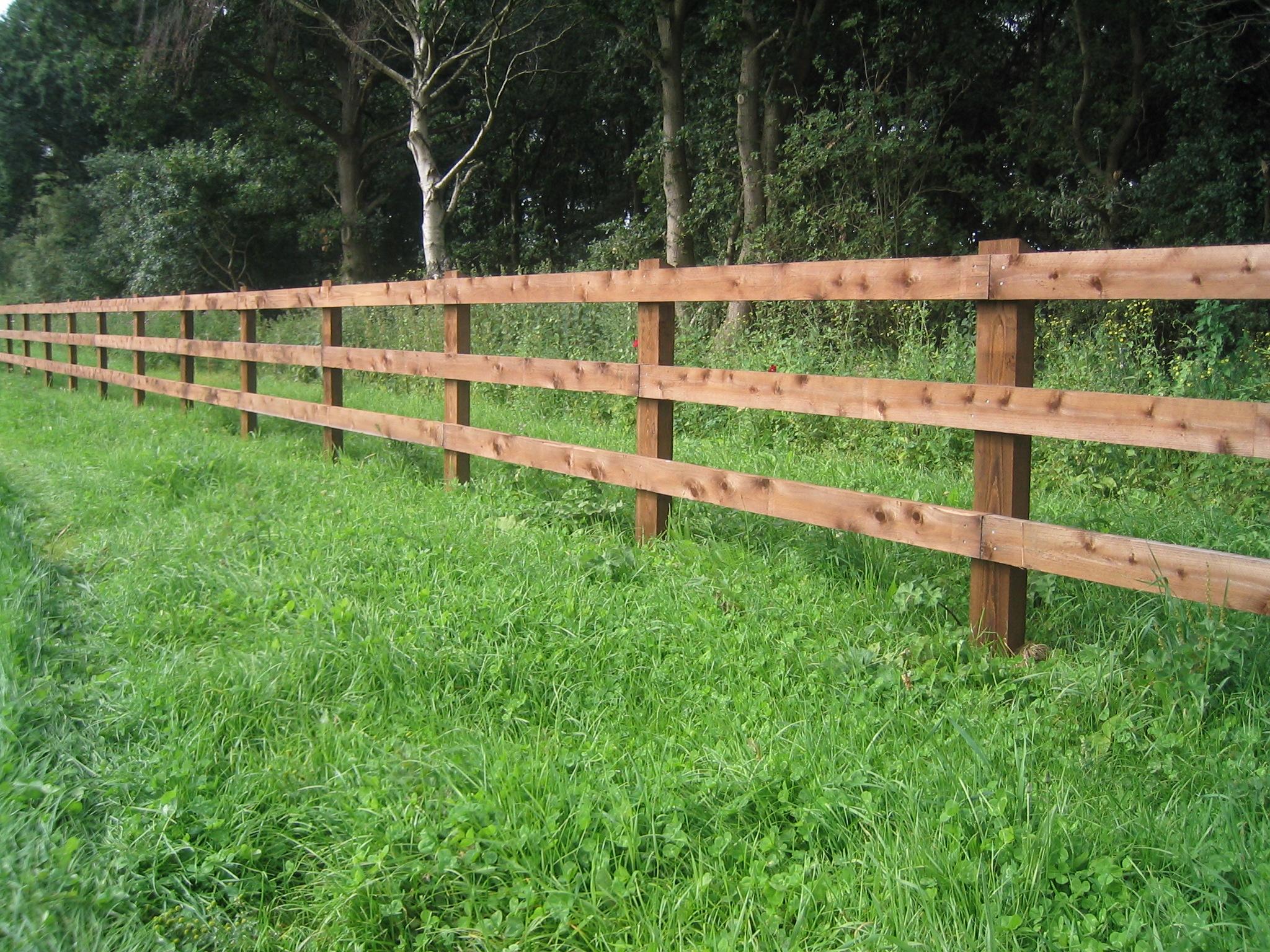 Split Rail Fence Clipart.