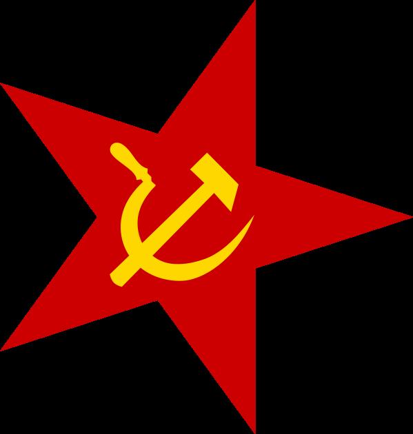 Red star Clip art.