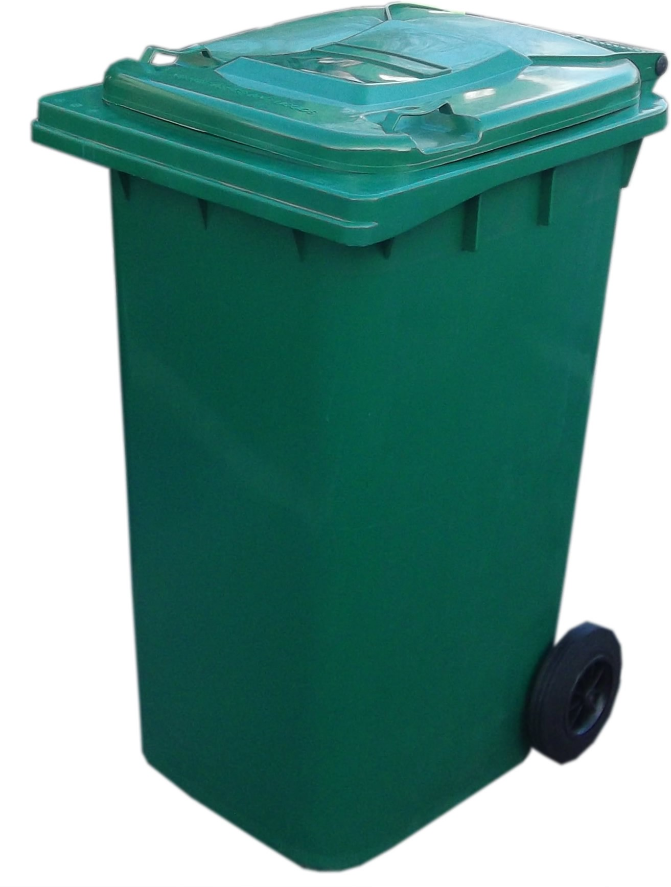 Green Recycling Bin Clipart.