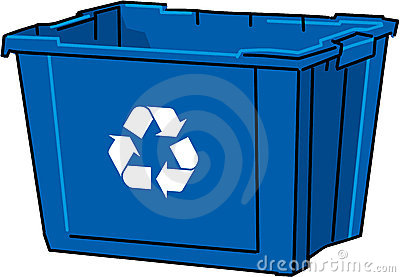 Recycle Bin Vector Royalty Free Stock Photography.