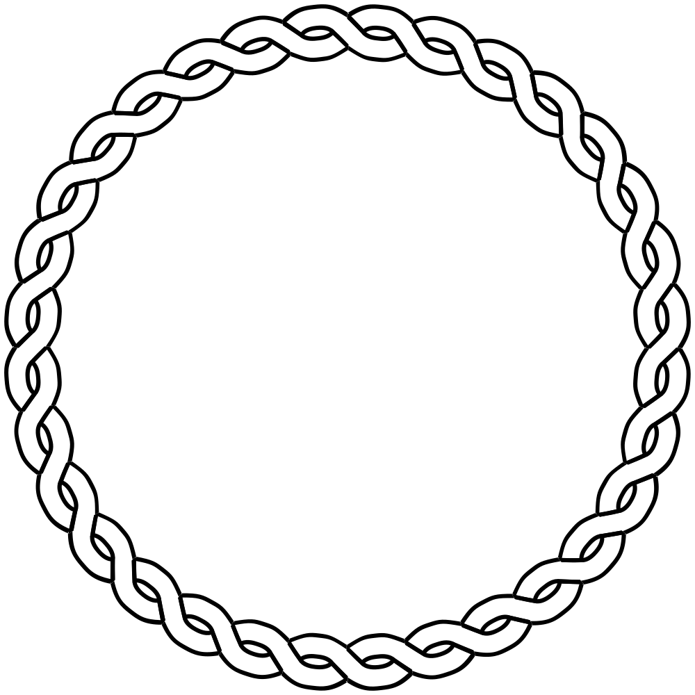3 ribbons braided clipart clipart images gallery for free.