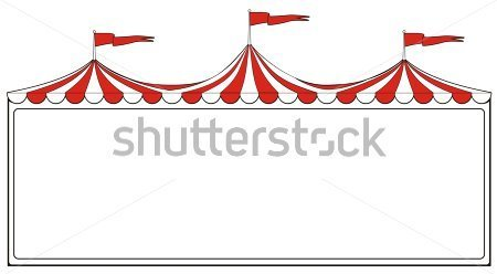 Three Ring Circus Clipart.