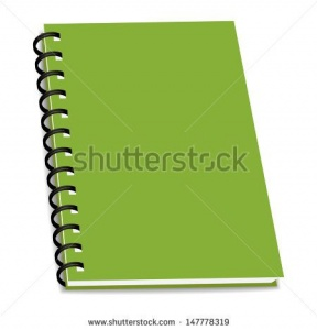 3 Ring Notebook Clipart.