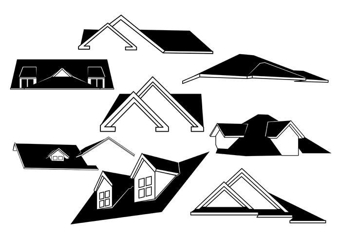Free Rooftops Vector.