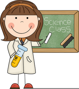 Science Class Clipart.