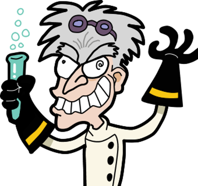 Mad scientist clipart 3 » Clipart Station.