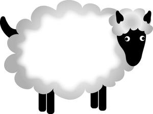 Sheep clip art cartoon free clipart images 3.