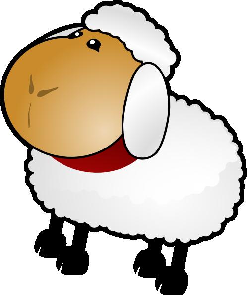 Sheep clip art clipart clipartix 3.