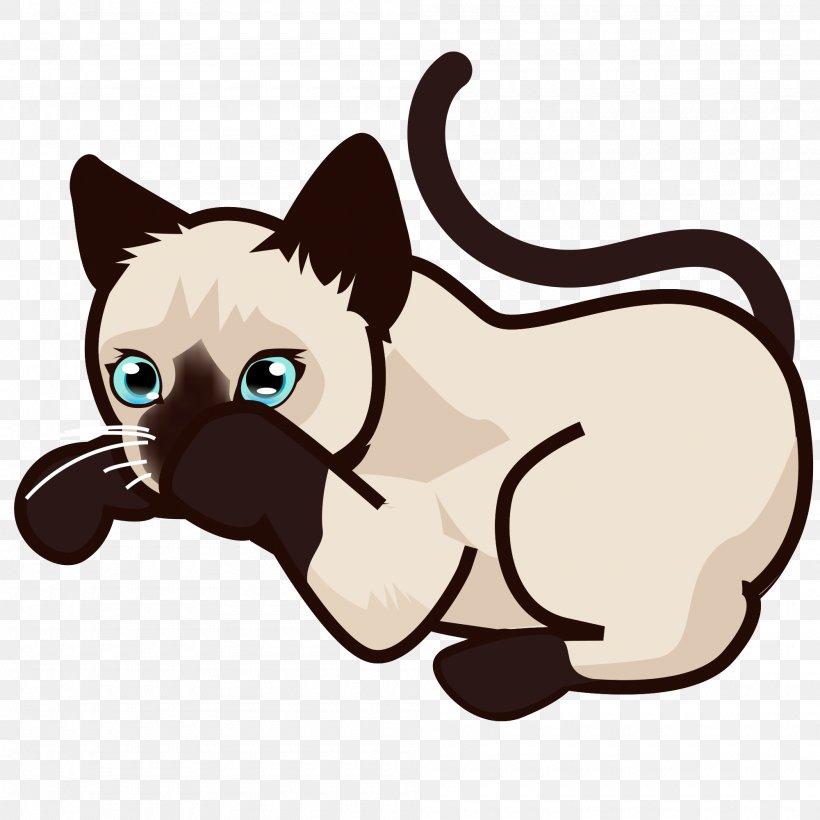 Siamese Cat Kitten African Wildcat Black Cat Clip Art, PNG.