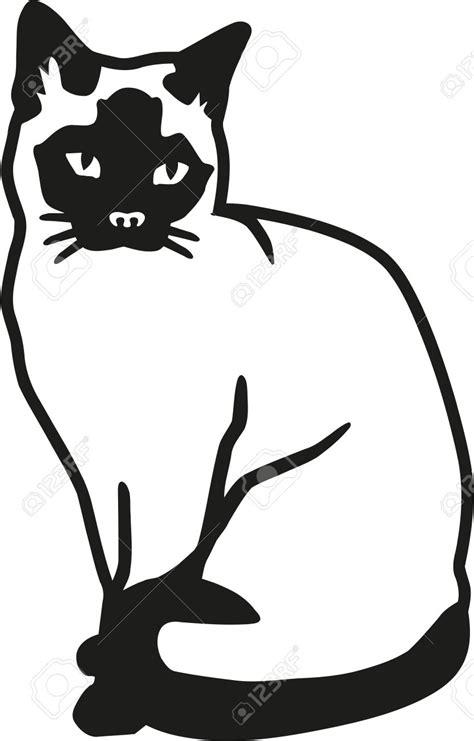 Siamese Cat Clipart.