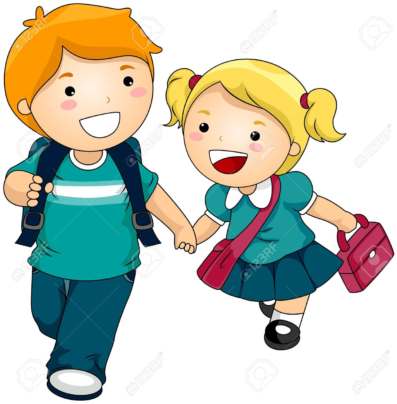 Siblings clipart 3 » Clipart Station.