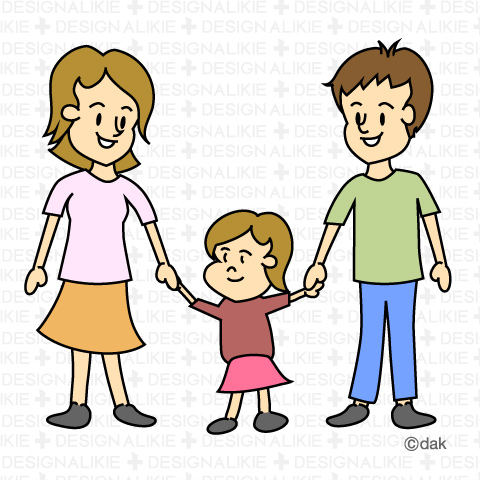Clipart Family Of 3.