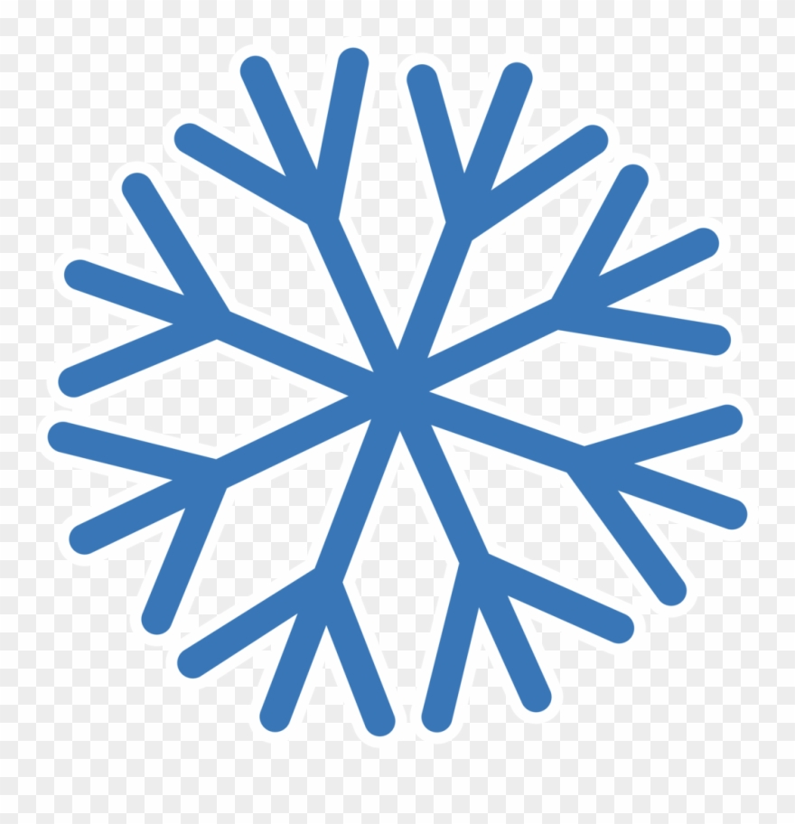 Snowflake With Transparent Background.