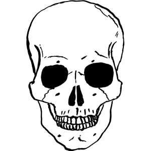 Skull clip art background free clipart images 3.