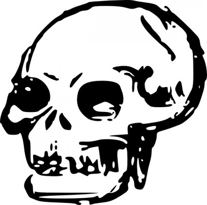 Skull clipart 6 free images 3.