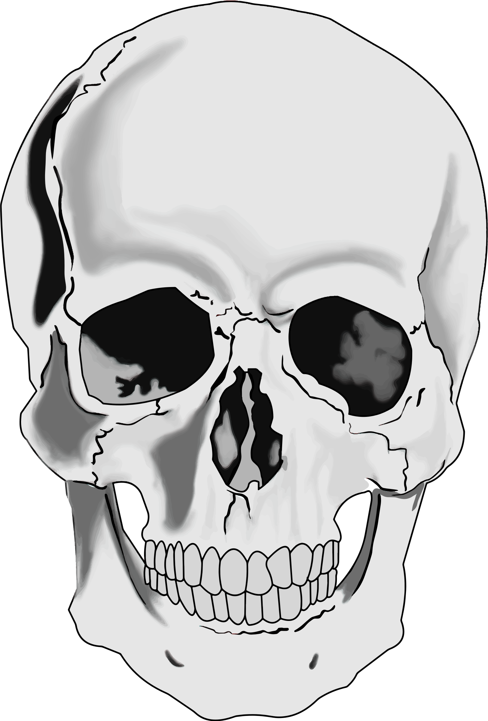 Skull clipart images 3 » Clipart Station.