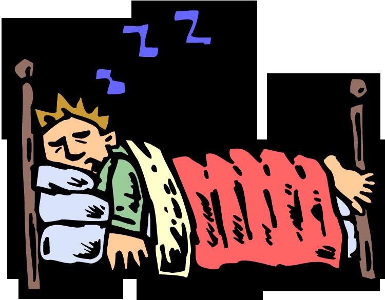 Go to sleep clipart kid 3.