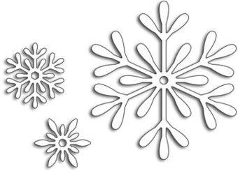 3 Snowflakes.