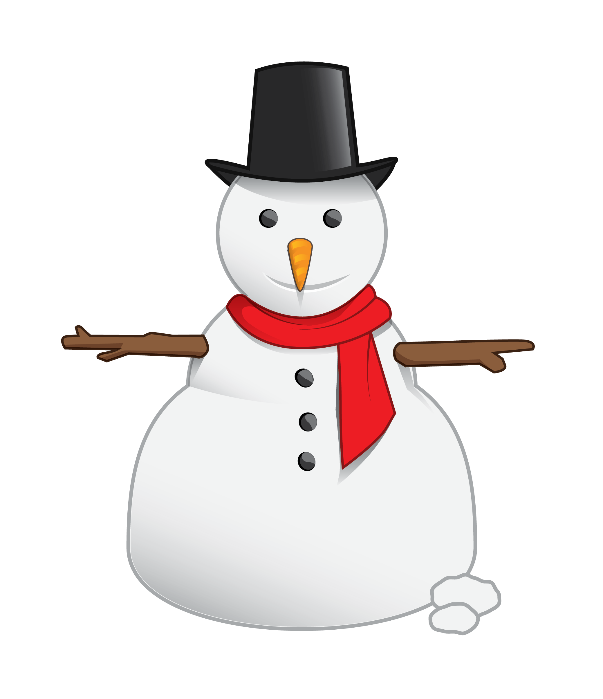 Free snowman clipart free images 3.