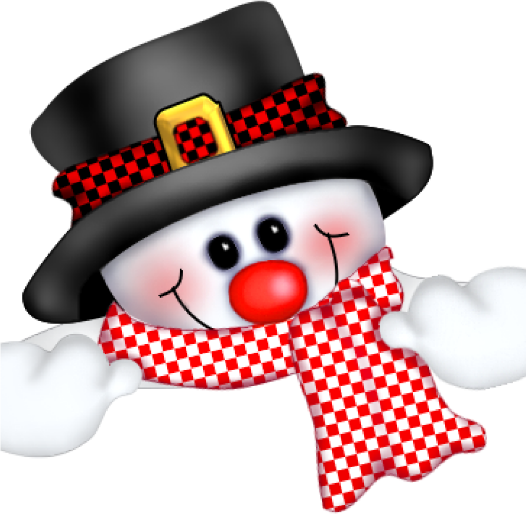 Cute Snowman Clipart Clip Art Funny Christmas Png For.
