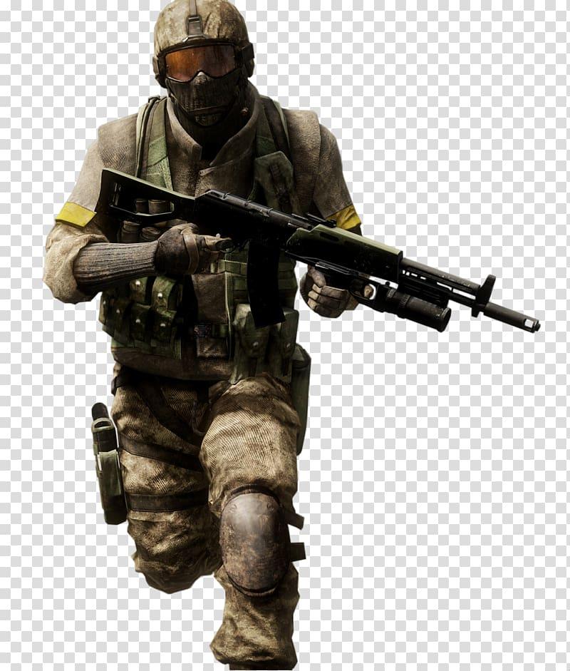 Halo character illustration, Battlefield: Bad Company 2.