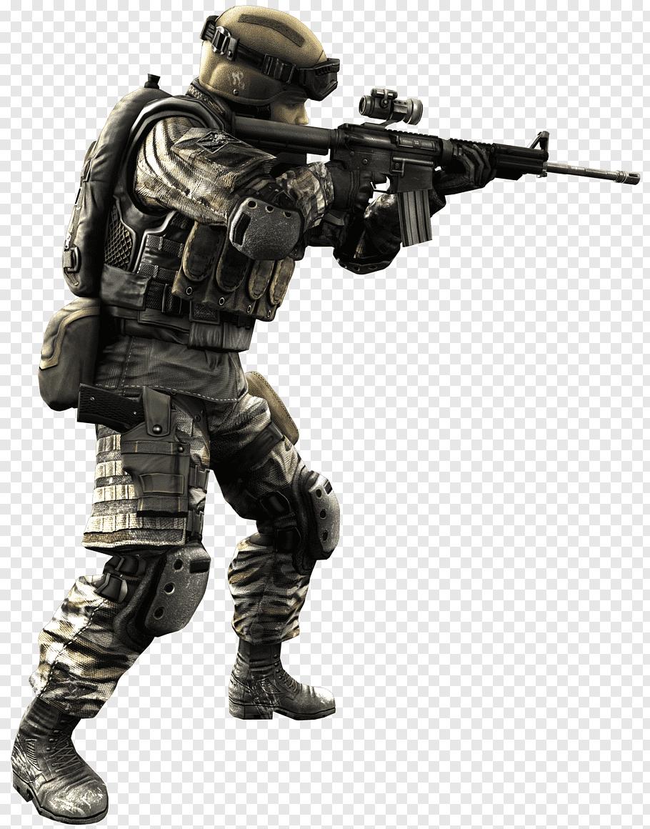 Soldier figure, Alliance of Valiant Arms Battlefield 3 ijji.