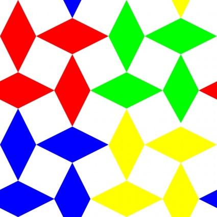 Diamond Squares 3 Pattern clip art Clipart Graphic.