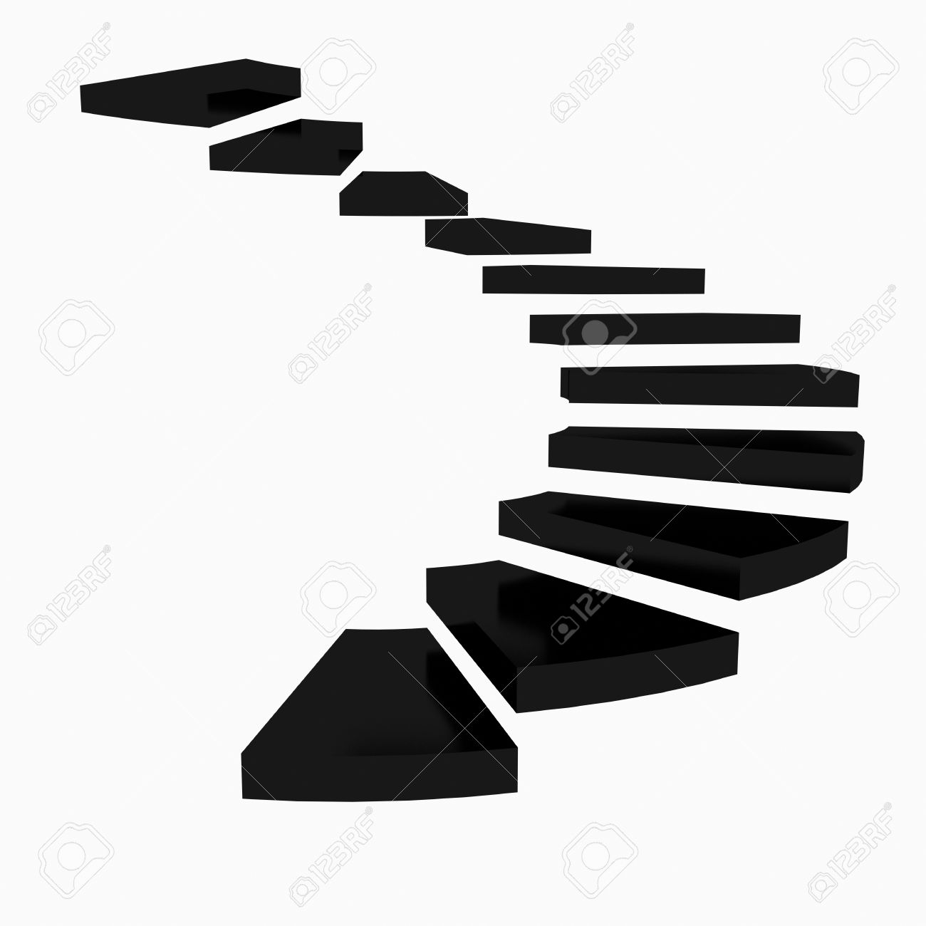 Stairs clipart black and white 3 » Clipart Station.