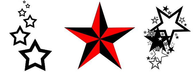 Free Star Tattoo, Download Free Clip Art, Free Clip Art on.
