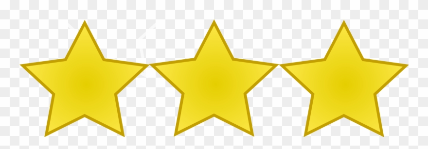 3 Star Png.