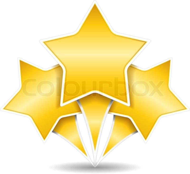3 stars clipart 7 » Clipart Portal.