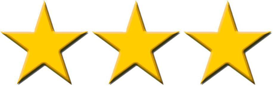 3 stars clipart 2 » Clipart Portal.