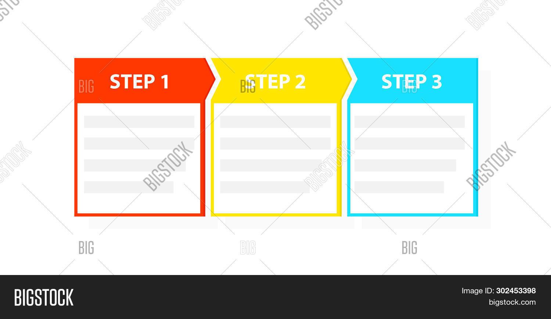 Three 3 Easy Steps Image & Photo (Free Trial).
