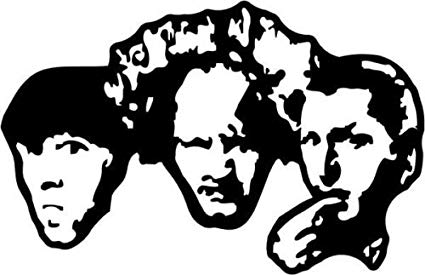 3 Stooges Funny Comedy Movie Vinyl Graphic Car Truck Windows Decor Decal  Sticker.