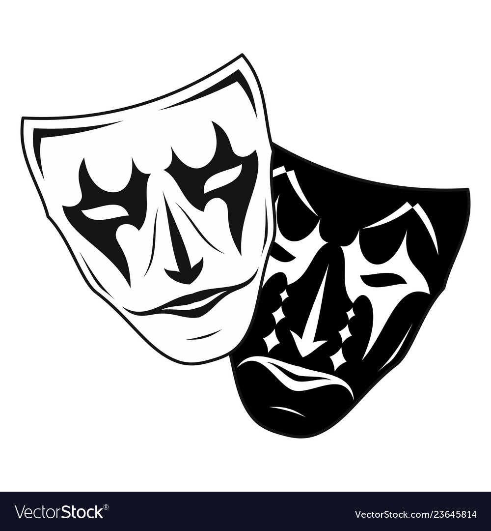 Theatrical mask 3.