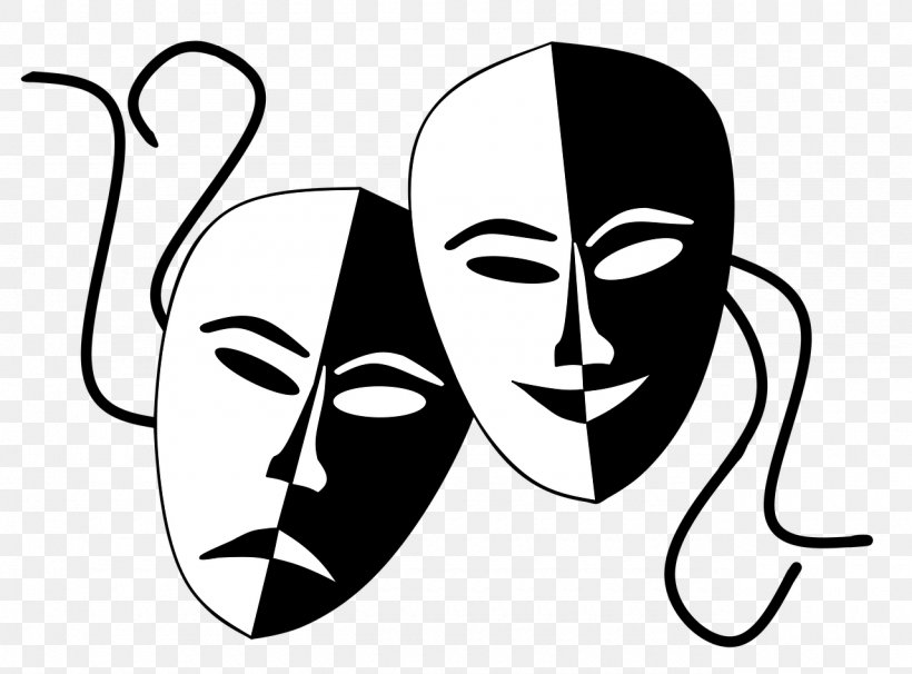Theatre Drama Mask Clip Art, PNG, 1280x946px, Watercolor.