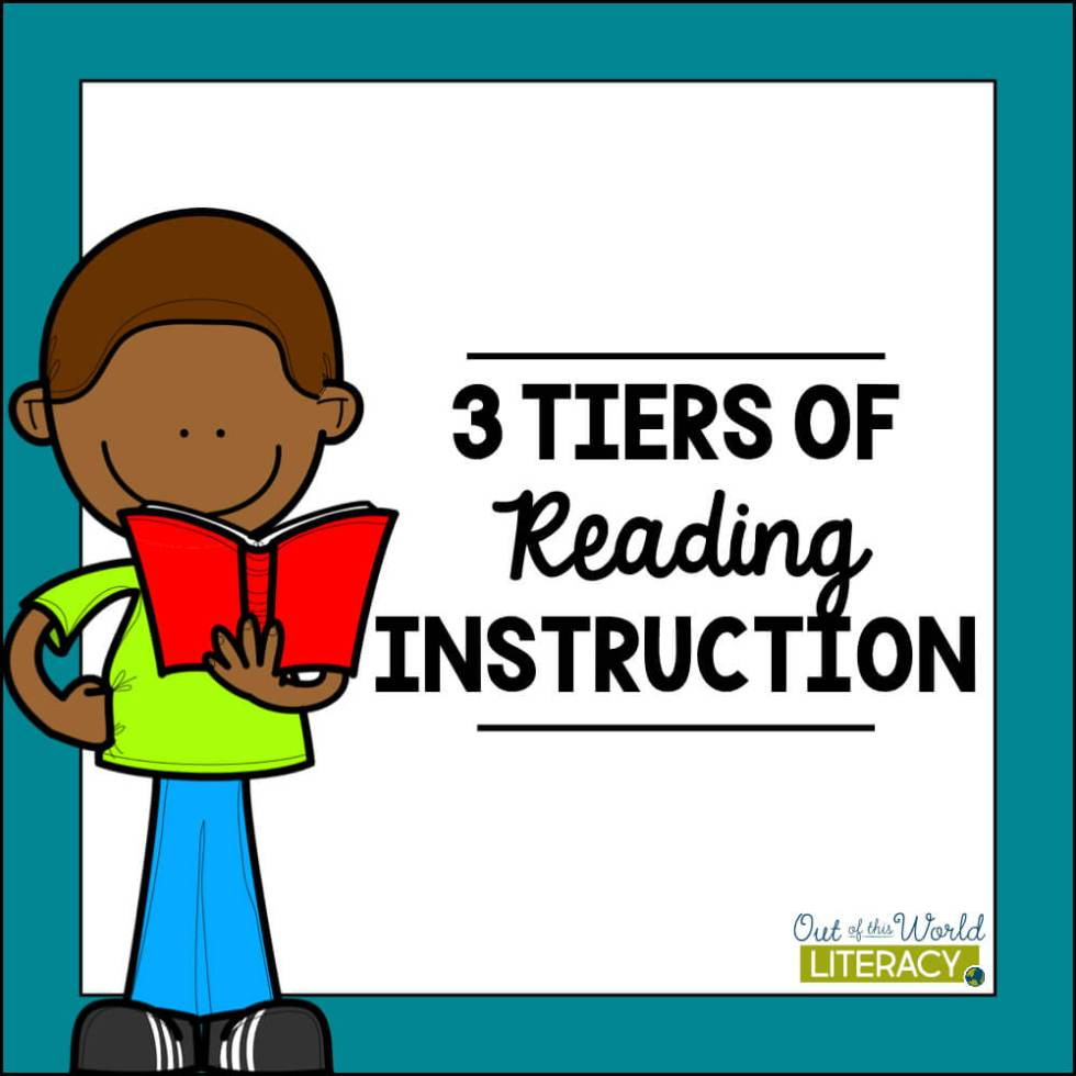 3 Tiers of Reading Instruction.