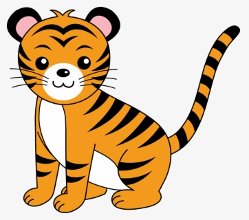 Free Tiger Clip Art with No Background.