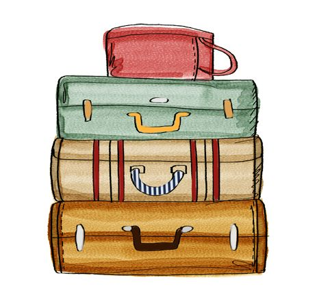 Image result for suitcase clipart in 2019.